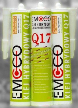 Q17 KLEJ MS-HYBRYD 310ML. /EMCCO/