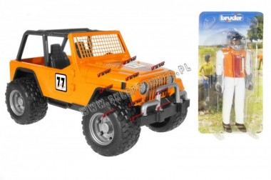 ZABAWKA 1:16 JEEP CROSS ORAN 02542 BRUDER